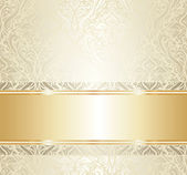 Bright luxury vintage wallpaper — Stock Vector