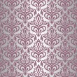 Violet & silver vintage wallpaper — Stock Vector #24120283