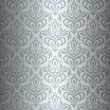 Silver luxury vintage wallpaper — Stock Vector #24120765