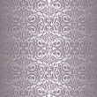 Royalty-Free Stock Vector Image: Violet  & silver vintage wallpaper