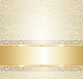 Bright luxury vintage wallpaper — Stock Vector