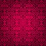 Red vintage wallpaper background — Stock Vector