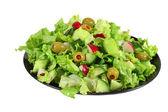 Fresh lettuce spring salad — Stock Photo