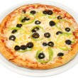 Pizza Vegetariana  — Stock Photo