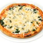 Pizza Popeye the sailor — Stock Photo