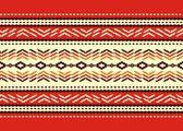 Bulgarian seamless decorative traditional national design — Stock Vector