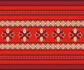 Bulgarian seamless decorative traditional national design — Stock Vector