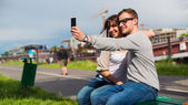 People taking picture — Stock Photo