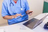 Arzt tabletts — Stockfoto
