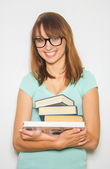 Student with books — Foto de Stock