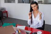 Imprenditrice in posa — Foto Stock