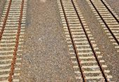 Railway tracks in Berlin — Stock Photo