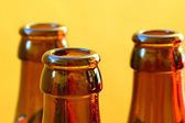 Empty beer bottles — Stock Photo