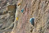 A climbing rock — Stock Photo