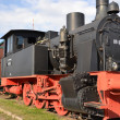 An old steam locomotive - Stock Photo