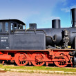 An old steam locomotive — Stock Photo