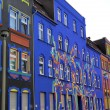 Stock Photo: Colorful facades in street