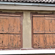 Zdjęcie stockowe: Shutters on old house