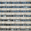 Stock Photo: One in need of renovation residential building in Berlin
