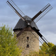 Historic windmill in Warnstedt — Stock Photo