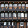 A historic half-timbered house - Stock Photo
