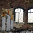 Abandoned and dilapidated industrial buildings — Stok Fotoğraf #23773515