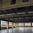 Stock Photo: Dining room of disused factory
