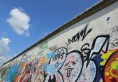 Details on the East Side Gallery of the Berlin Wall — Foto de Stock