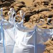 Filled sandbags — Stock Photo #26498543