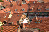 Over the roofs of Quedlinburg — Photo