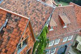 Over the roofs of Quedlinburg — Стоковое фото