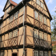 Half-timbered house in Quedlinburg — Stock Photo