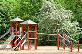 Abandoned playground in the Tiergarten in Berlin — Stock Photo