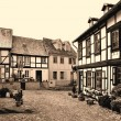 Half-timbered houses in Quedlinburg — Photo