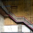 Stock Photo: Staircase in abandoned factory