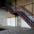 Staircase in an abandoned factory — Stock Photo #33468557
