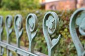 An old fence in Karlovy Vary — Stock Photo