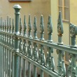 Old fence in the old town of Karlovy Vary — Foto Stock