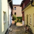 Old alley in the Old Town of Quedlinburg — Stock Photo #36898901