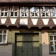 Old half-timbered house in Quedlinburg — Stock Photo