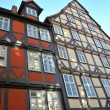 Stock Photo: Historic half-timbered houses in Hanover