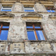 Facade of an old house in Brandenburg — Stock Photo