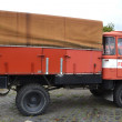 flamme camion — Photo