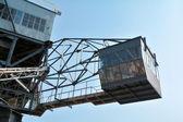 кабина экскаватора в феррополис — Стоковое фото