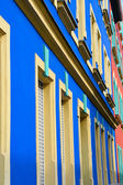 Colorful facade — Stock Photo