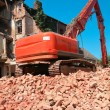 Demolishing a house — Stock Photo #50164489