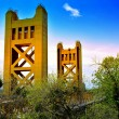 Royalty-Free Stock Photo: Tower Bridge Sacramento