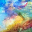 Cool Abstract Watercolor Background — Stock Photo #24013431