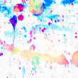 Watercolor Splashes Background — Stockfoto