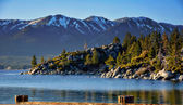 Lake Tahoe & pohoří Sierra Nevada — Stock fotografie